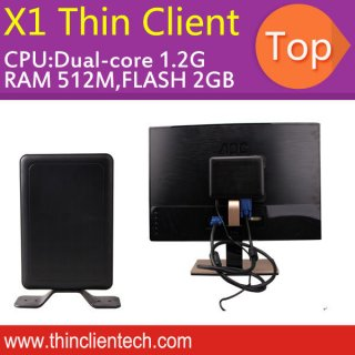 Thin Client PC Station Dual Core 512M 2G Flash Computer Share Host With 30 Users 3